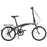 image of Carrera Intercity Folding Bike - Grey