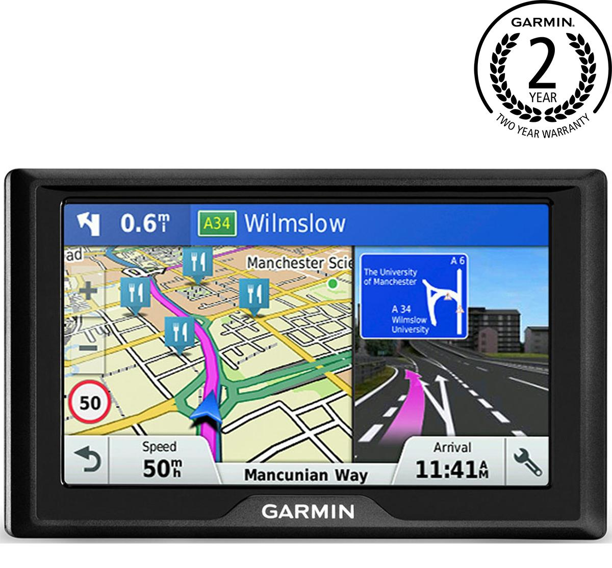 Garmin Drive 51Lmt-S With Uk And Ireland Maps 5 Inch Sat Nav