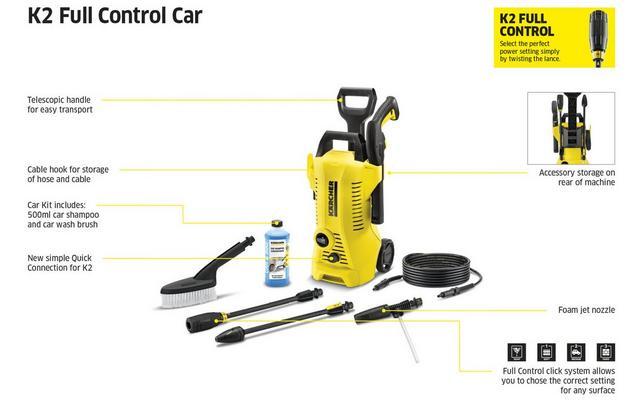 Genoeg Karcher K2 Full Control Car Pressur... RX17