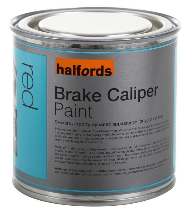 Halfords Brake Caliper Paint Red 25