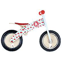 "image of Kiddimoto Kurve Cherry Balance Bike - 12"" Wheel"