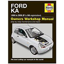 image of Haynes Ford Ka (96 - 08) P to 58 reg. Manual
