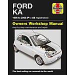 image of Haynes Ford Ka (96 - 08) P to 58 reg. Manual