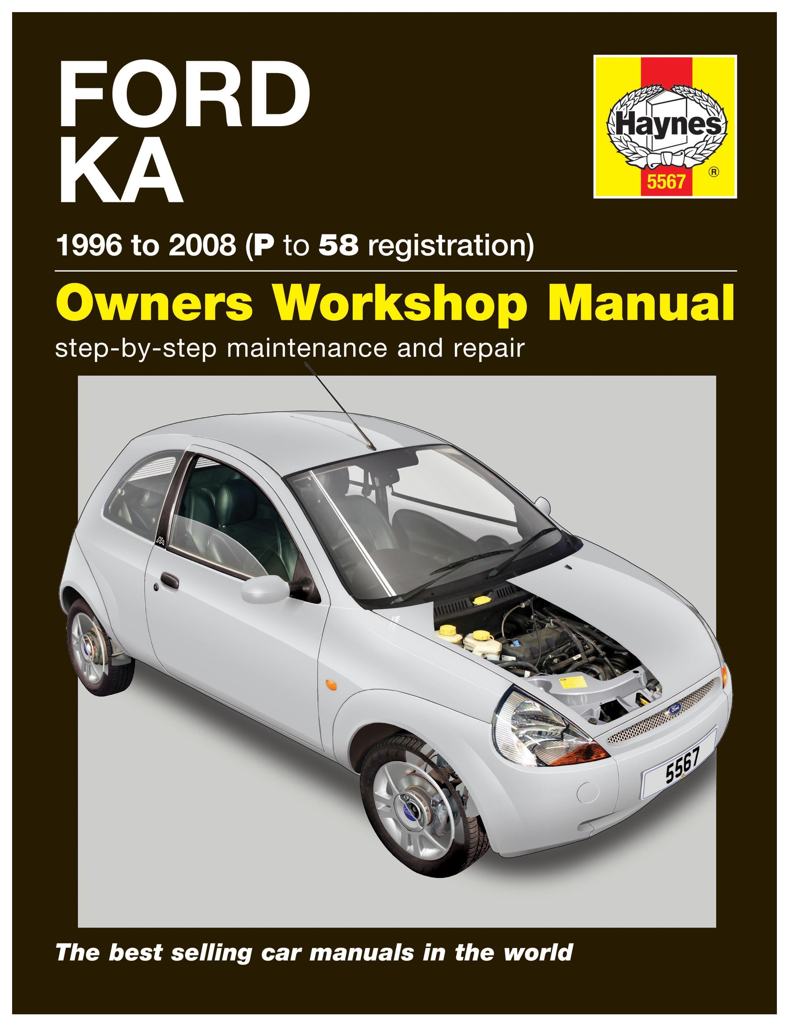haynes ford ka 96 08 p to 58 re rh halfords com ford ka workshop manual online free ford fiesta workshop manual pdf