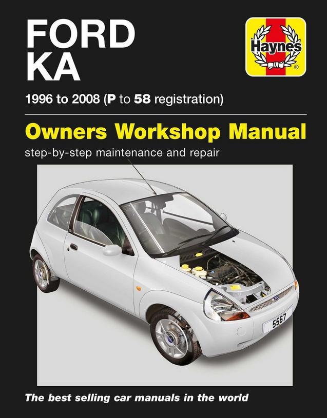 Haynes Ford Ka   P To  Reg Manual