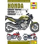 image of Haynes Honda CB600 Hornet, CBF600 & CBR600F (07 - 12) Manual
