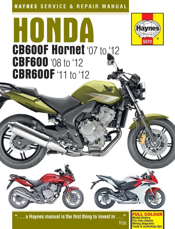 Honda Cb600 Manual