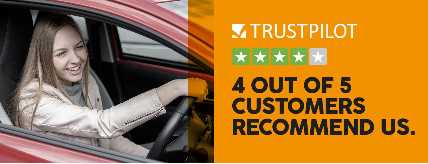 Trustpilot - 4 Out of 5 customers would recommend us