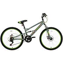 400369: Apollo Creed Junior Mountain Bike - 24 Wheel...