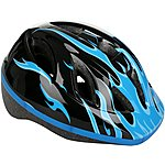 image of Blue Flames Kids Helmet (48-52cm)