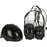 Black Helmet and Pads Backpack