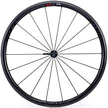 image of Zipp 202 Firecrest Carbon Clincher 77 Front Wheel- Black
