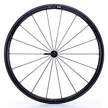 image of Zipp 202 Tubular 77 Front Wheel- Black