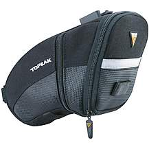 image of Topeak Aero Wedge Saddle Bag with Straps - Micro