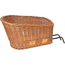 image of Basil Pasja Rear Wicker Pet Basket