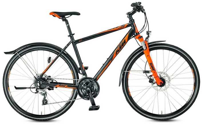 ktm life track street mens hybrid bike - 2017