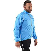 image of Ridge Unisex Jacket Fluro Blue