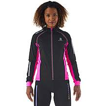 image of Boardman Womens Removable Sleeve Cycling Jacket Pink