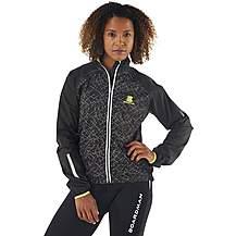 image of Boardman Womens Reflective Waterproof Jacket Black