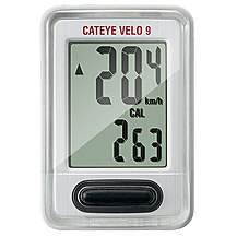 image of Cateye Velo 9 Wired Cycle Computer