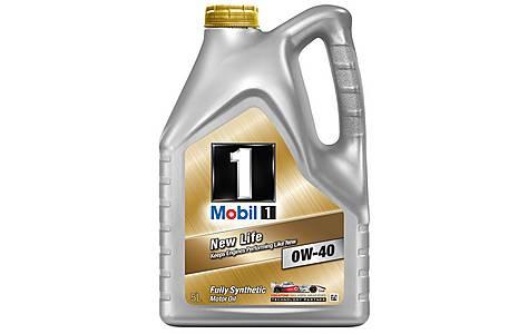 mobil 1 new life 0w 40 oil 5l. Black Bedroom Furniture Sets. Home Design Ideas
