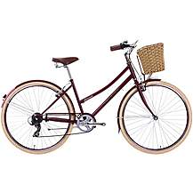 """image of Raleigh Sherwood Womens Classic Bike - Red - 17"""", 19"""", 21"""" Frames"""