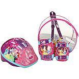 Disney Princess Helmet, Knee & Elbow Pad Backpack Set