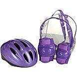 Lilac Helmet and Pads Backpack