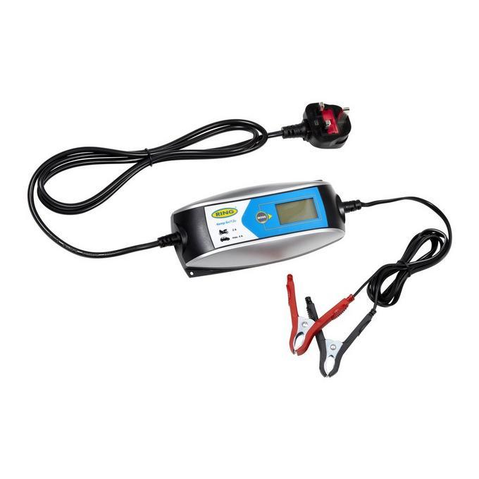 Ring 6v 12v Smart Car Battery Charger Halfords Ie