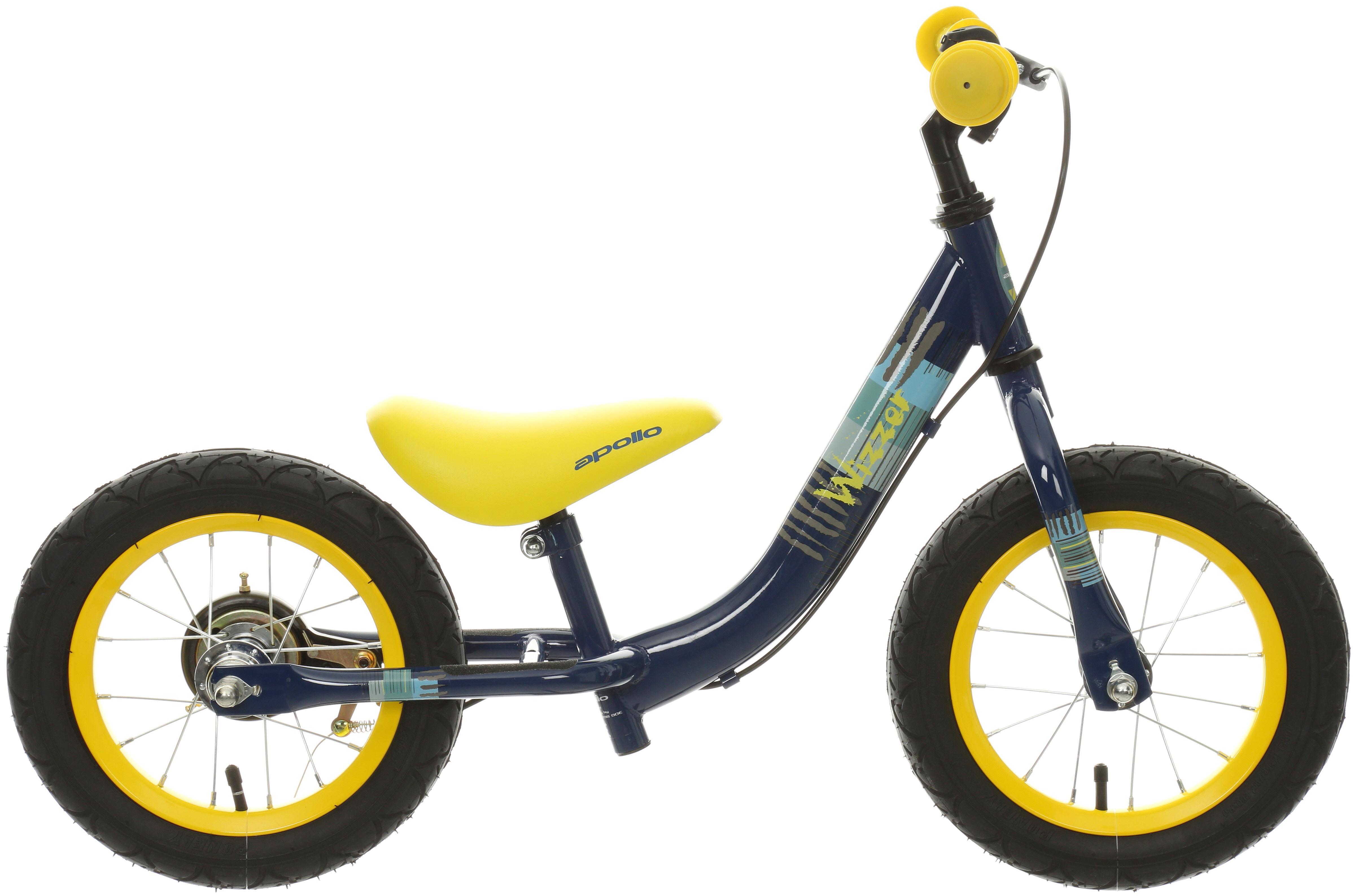 Apollo Wizzer Balance Bike Blue   12 Inch
