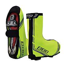 image of BBB WaterFlex Overshoes Neon Yellow