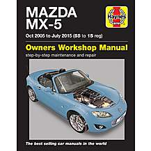 image of Haynes Mazda MX5 (05-15) Manual