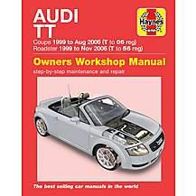 image of Haynes Audi TT (99-06) - Manual