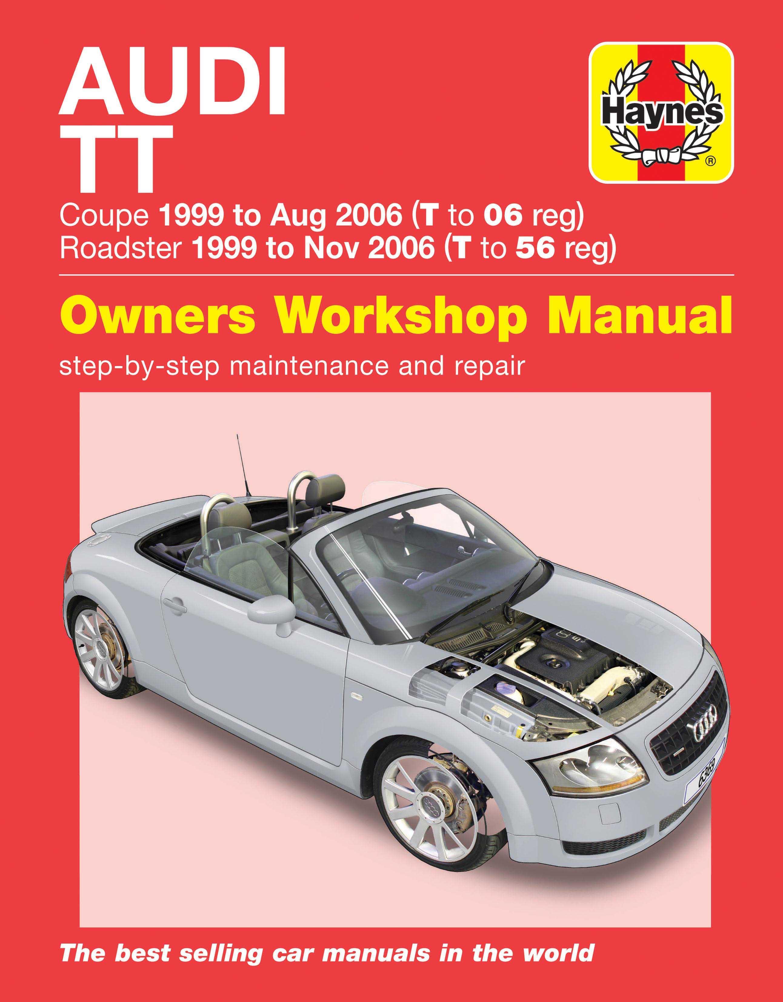 haynes audi tt 99 06 manual rh halfords com workshop manual audi tt mk1 manual audi tt mk1 pdf