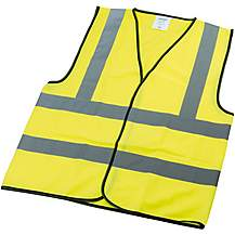 image of Draper High Visibility Waistcoat Large