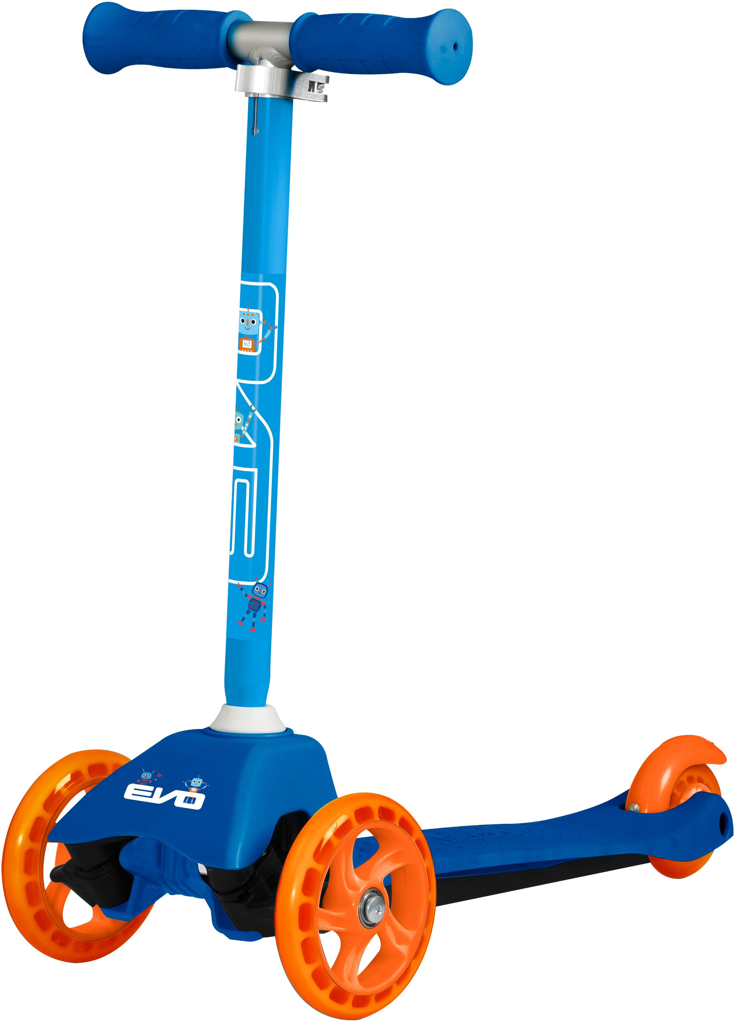 Evo+ Mini Kids Scooter - Blue Robot