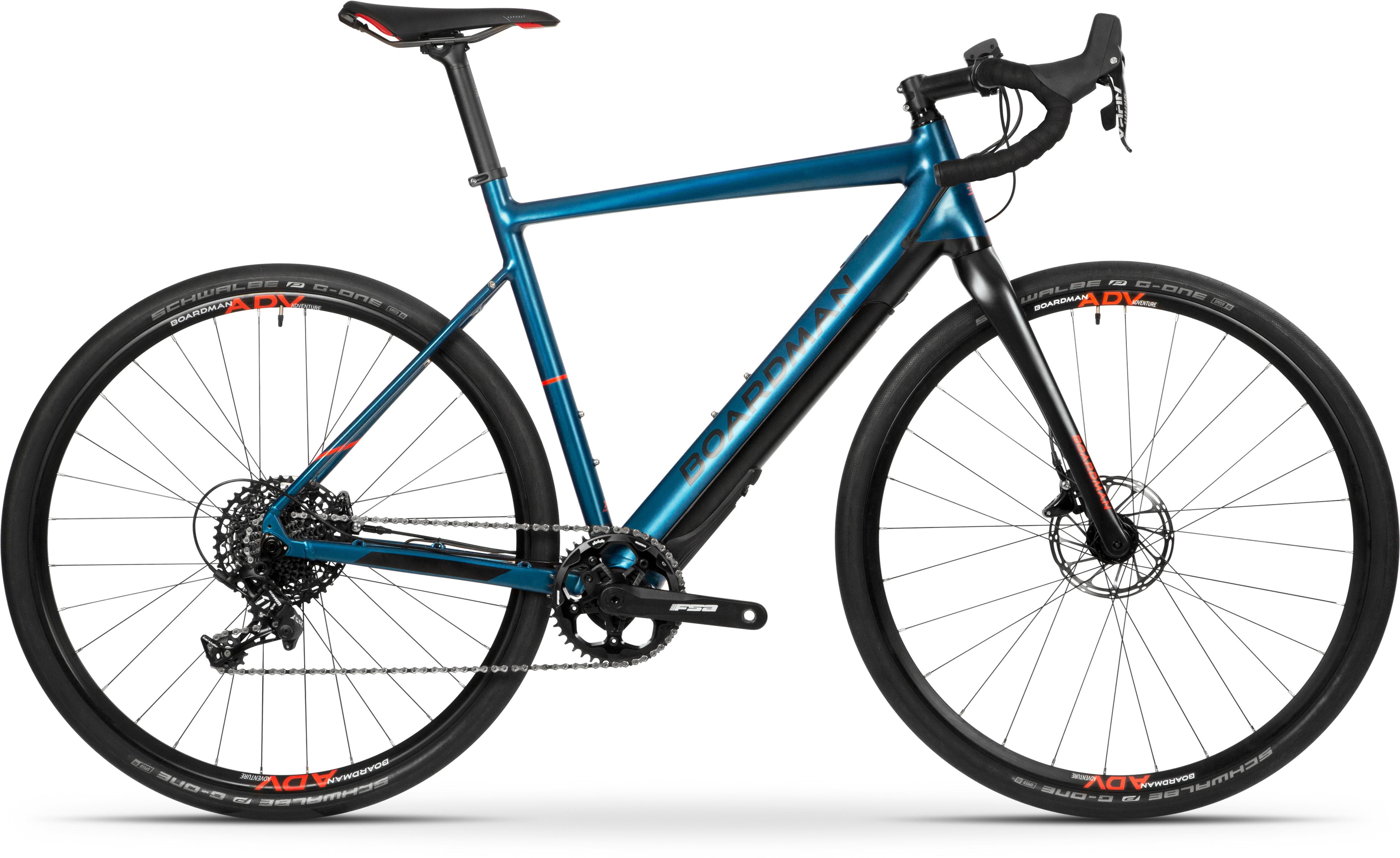 Boardman Adv 8.9E Mens Adventure Electric Bike 2021 - Large