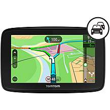 Ex Display TomTom Via 53 Car Sat Nav with Blu