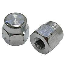 image of Tacx Axle Nuts for Non-QR Wheels