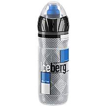 image of Elite Iceberg Bike Water Bottle - 500ml, Blue