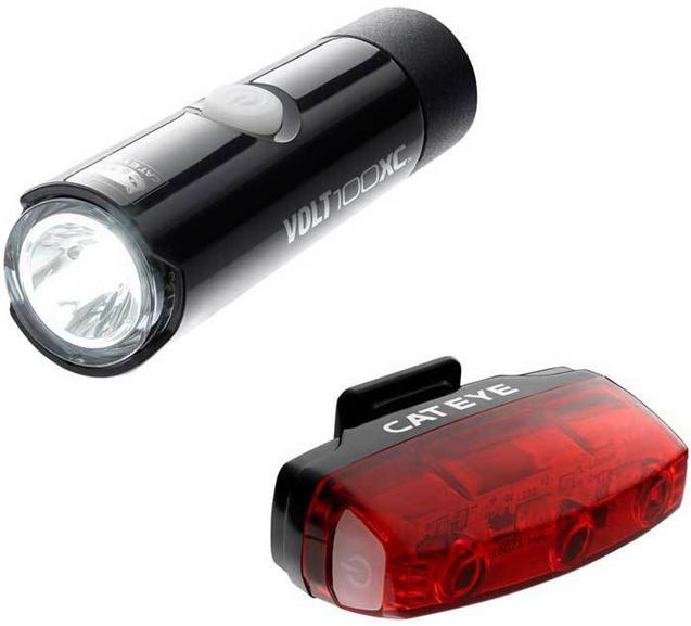 Cateye Volt 100 XC/Rapid Micro Bike Light Set