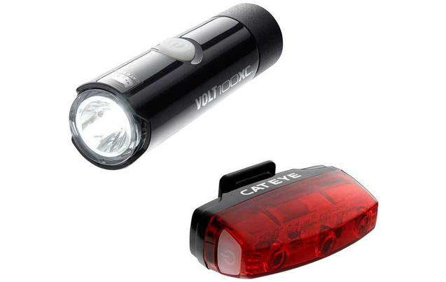Cateye Volt 100 XC/Rapid Micro Bike Light Set
