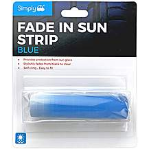 image of Simply Fade In Sun Strip - Blue Top Tint