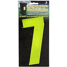 image of Hi Vis Number Yellow 7
