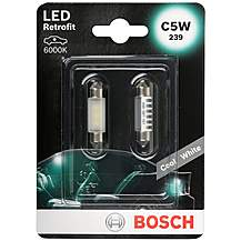image of Bosch 239 (C5W) LED Car Bulbs x2