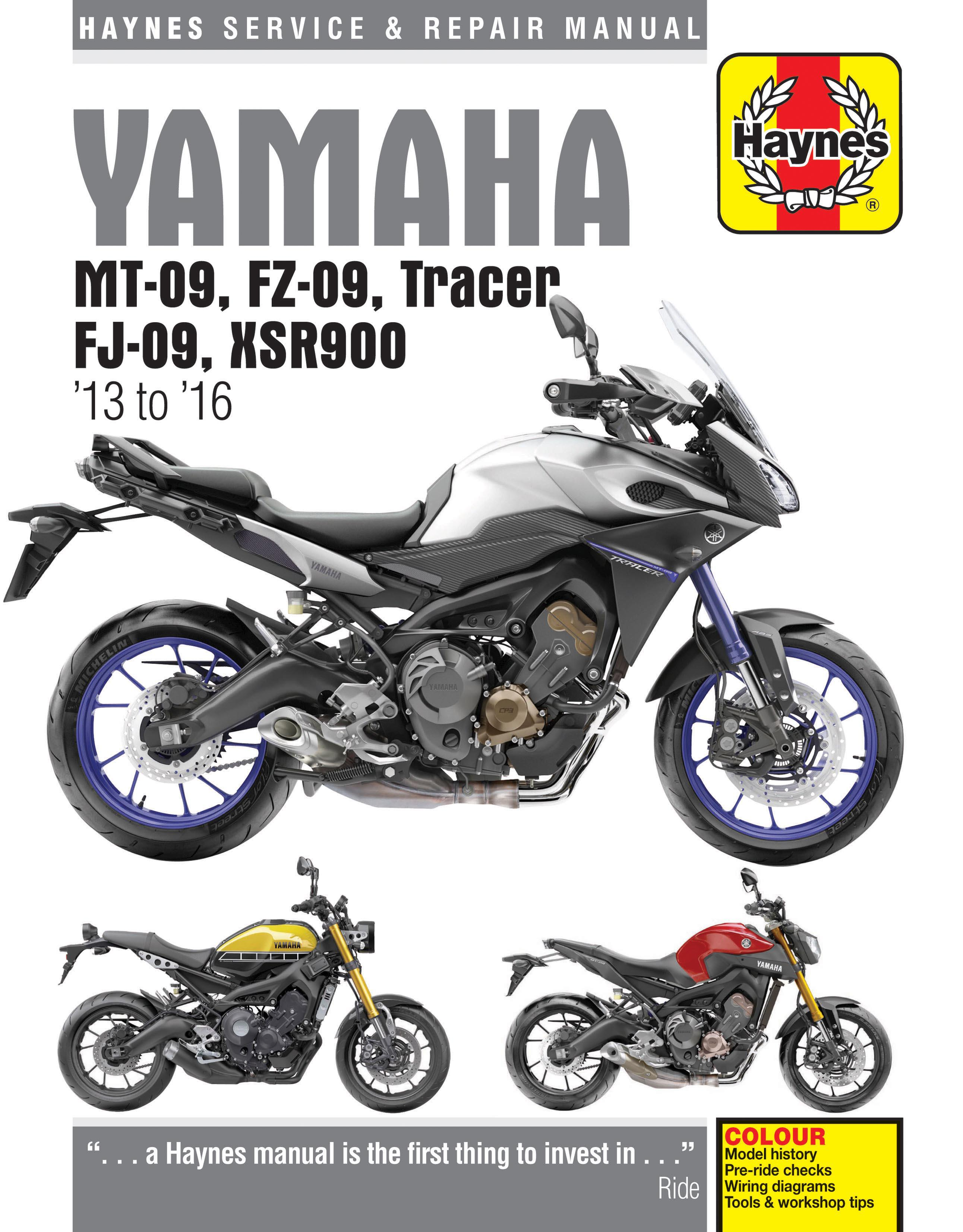 haynes yamaha mt 09 13 16 manual rh halfords com Yamaha FZ16 Philippines Yamaha FZ16 Modified