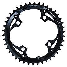 image of Truvativ Chainring 42T-4Bolt-104 Black