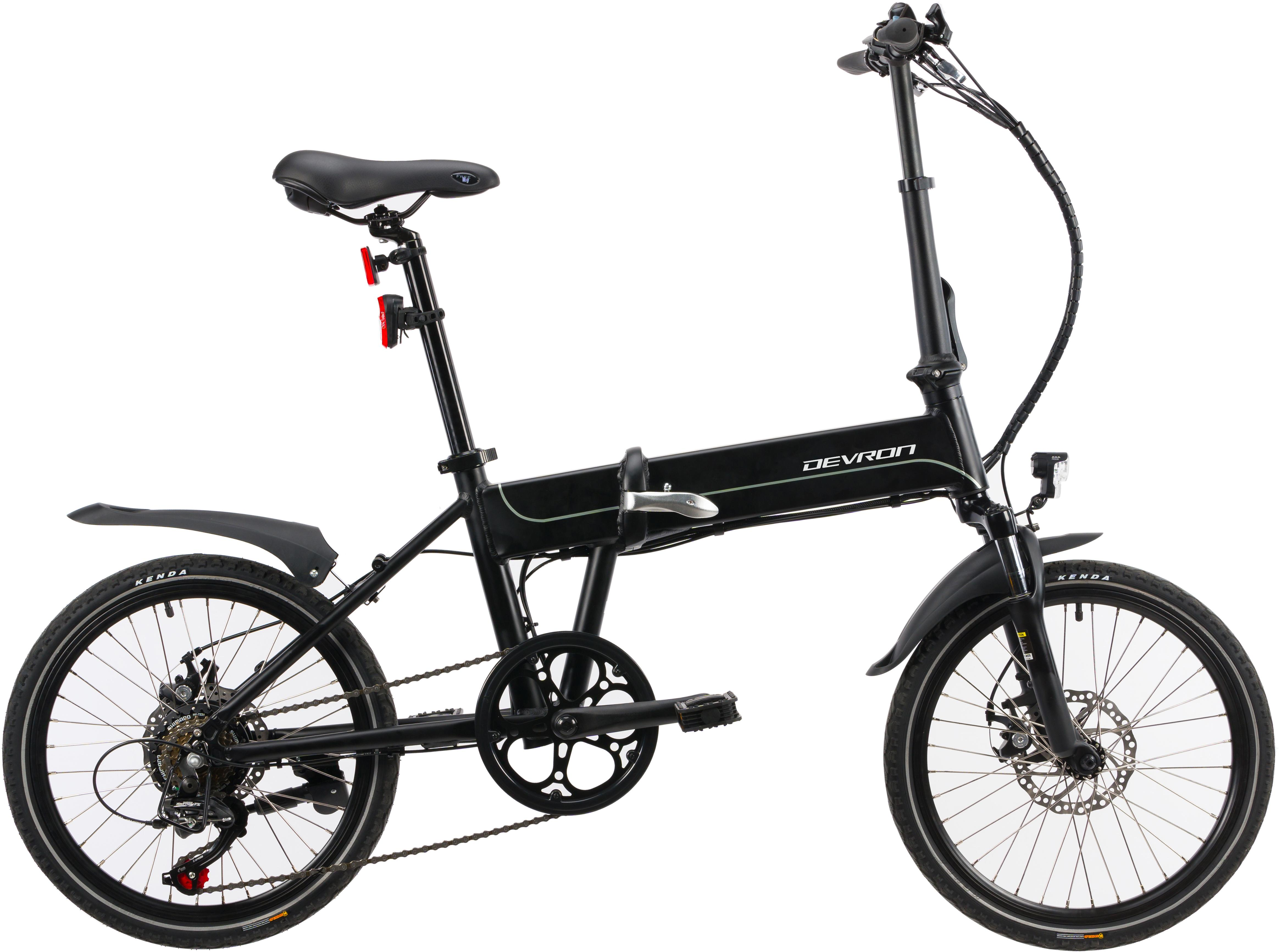Devron Folding Electric Bike 2020 - 20 Inch Wheel
