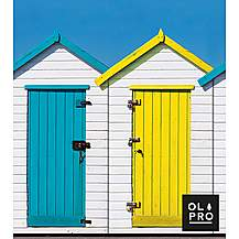 image of Beach Hut 4 Pole Compact Windbreak