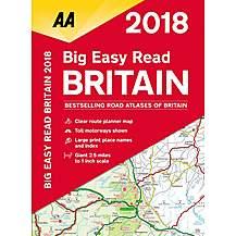 image of Big Easy Read Atlas Britain 2018 sp